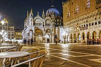 Piazza San Marco, Venice, Italy.