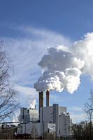UPM paper factory in Lappeenranta, Finland.