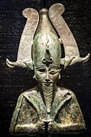 Osiris god , Gregorian Egyptian Museumn Musei Vaticani, State of the Vatican City, Roma, Lazio, Italia.