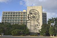 Che Guevara Memorial, Plaza de la Revolucion, Havana, Cuba.