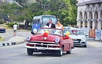 Cuban style wedding, Havana, Cuba.