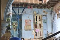 Old colonial building interior, Havana, Cuba.