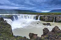 Goðafoss, Northeastern Region, Iceland.