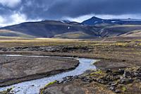 Highlands of Iceland, Southern Region, Iceland.