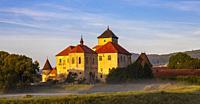 Water castle Svihov near Klatovy, Southern Bohemia, Czech Republic.