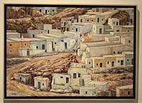 Almería, Andalusia, Spain, Europe. . Doña Pakyta Museum of Art (Museo de arte Doña). Doña Pakyta Museum of Art (Museo de arte Doña Pakyta). La Chanca,...