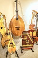 Ancient string instruments.