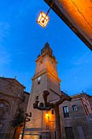 Bell Tower, Square of the Saint, Santo Domingo Cathedral, Santo Domingo de la Calzada, La Rioja, Spain, Europe, The Way of St. James.