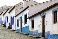 Houses in the village of Odeceixe, Algarve, Portugal.