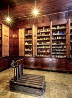 Pharmaceutical Museum, interior, Matanzas, Matanzas Province, Cuba.