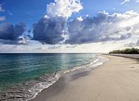 Guardalavaca Beach, Holguin Province, Cuba.