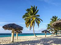 Playa Esmeralda, Holguin Province, Cuba.