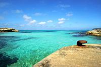 Es Caló de Sant Agustí. Formentera. Islas Pitiusas. Baleares. España.