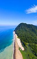 Majaguas hill, Pacific lookouts, Lo de Marcos village, Riviera Nayarit, Pacific Ocean, Nayarit State, Mexico, Central America, America.
