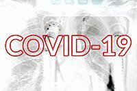 Image Of Medical Ventilator. Pulmonary Pathology of Early-Phase 2019 Novel Coronavirus (COVID-19) Pneumonia.