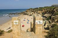 Calas de Conil, Conil Coves, Frailecillo Beach, Conil de la Frontera, province of Cadiz, Andalucia, Spain