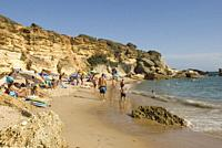 Calas de Conil, Conil Coves, Pato Beach, Conil de la Frontera, province of Cadiz, Andalucia, Spain