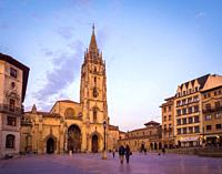 Catedral de San Salvador de Oviedo. Asturias. España.