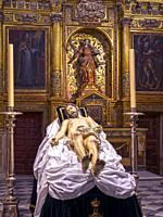 Cristo muerto. Catedral del Salvador. Zamora. Castilla León. España.