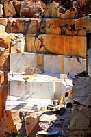 Marble quarry. Borba. Alentejo. Portugal