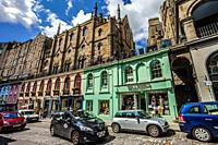 Victoria Street, Old Town, Edinburgh, Scotland, United Kingdom, Europe