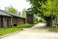 Auschwitz Birkenau Concentration Camp Museum OŠ›wiÄ. cim Southern Poland Europe EU UNESCO.