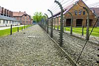 Auschwitz Birkenau Concentration Camp OŠ›wiÄ. cim Museum Southern Poland Europe EU UNESCO.