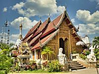 Wat Mahawan, Chiang Mai, Thailand.
