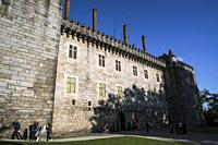 Palace of the Dukes of Braganza in Guimaraes in province of Braga, Portugal.