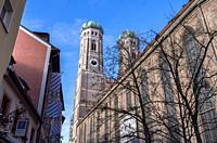 Frauenkirche, Munich, Bavaria, Germany.