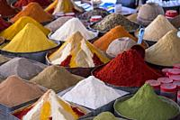 Spices in the Pissani market.