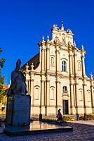 Church of St. Joseph of the Visitationists, known as the Visitationist Church. One of the most notable rococo churches in Poland's capital, its constr...