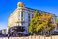 Hotel Bristol is a historic luxury hotel opened in 1901 located on Krakowskie Przedmiescie in Poland's capital, Warsaw. Warsaw, Poland, Europe.
