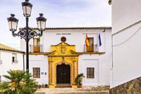 Town Hall building, Villaluenga del Rosario,Cádiz,Andalucia,Spain, Europe.