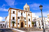 Iglesia y Convento de la Merced - Church and Convent of Mercy. The Church of Our Lady of Mercy was completed in 1585. The facade consists of two ashla...