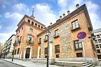 The house with the seven chimneys. Headquarters of the Ministry of Culture and Sport. Madrid. Spain.