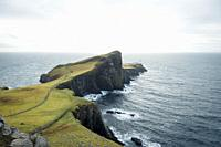 Neist Point lighthouse, Skye island. One of the most famous places on this Scottish Island.