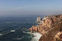 Cabo da Roca is a cape which forms the westernmost point of the Sintra Mountain Range, of mainland Portugal, of continental Europe, and of the Eurasia...