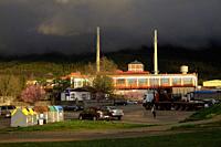 Verescence La Granja Insulators, glass factory in Real Sitio de San Ildefonso, province of Segovia.