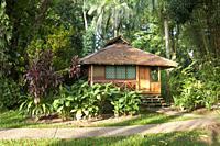 Bungalow at Walindi Plantation Resort, Kimbe Bay, New Britain, Papua New Guinea.