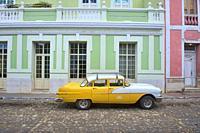 Vintage Chevy in UNESCO World Heritage Trinidad, Cuba.