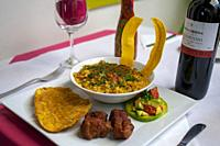 Restaurante Ringlete serves traditional cuisine from in Cali the Cauca Valley, Colombia, South America.