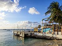Coast of George Town, Grand Cayman, Cayman Islands.