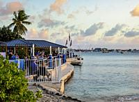 The Wharf Restaurant, George Town, Grand Cayman, Cayman Islands.