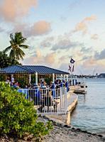 The Wharf Restaurant, George Town, Grand Cayman, Cayman Islands.