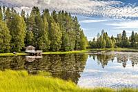 Lake close to Kajaani, Finland.