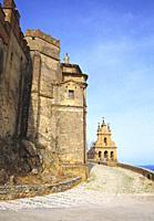 Castle. Aracena, Huelva province, Andalucia, Spain.
