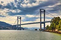 Rande bridge is a cable-stayed bridge linking Vigo to Morrazo peninsula.