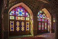 Nasir al Molk mosque, Shiraz, Fars Province, Iran.