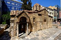 Church of the Assumption of the Virgin Mary, Athens, Greece, Europe